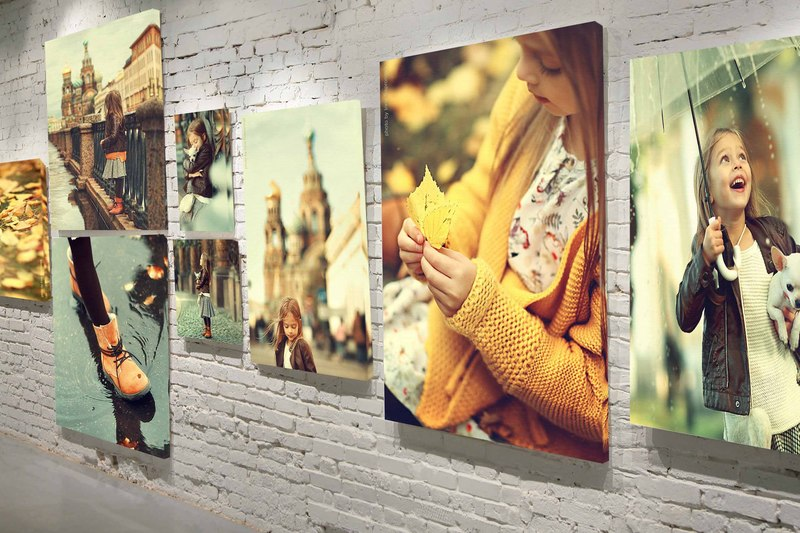 печать фотографий на холсте на заказ в курске 1