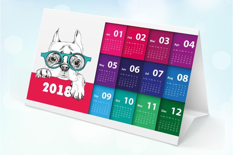 Печать календарей, карманные календари, заказать календарь, в Курске, изготовление календарей